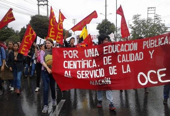 La comunidad educativa ha gritado ¡Basta! frente a la crisis de la UPTC
