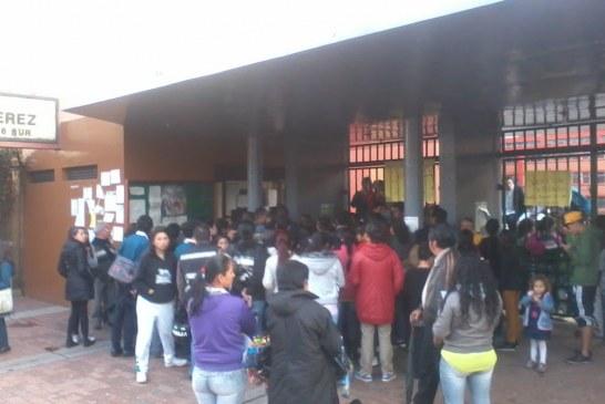 Comunicado de Estudiantes del INEM Santiago Peréz del Tunal